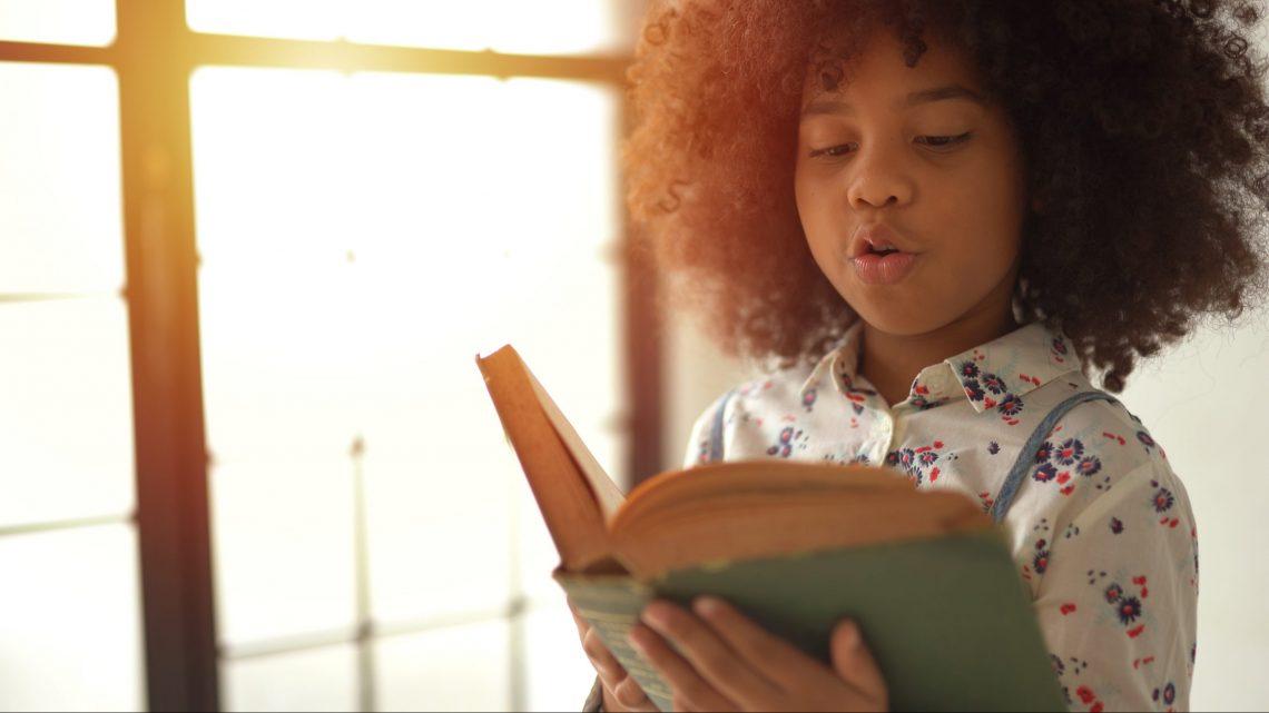 Girl reading.a book